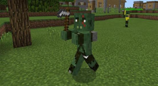 اسکرین شات برنامه Medieval Mobs for Minecraft 2