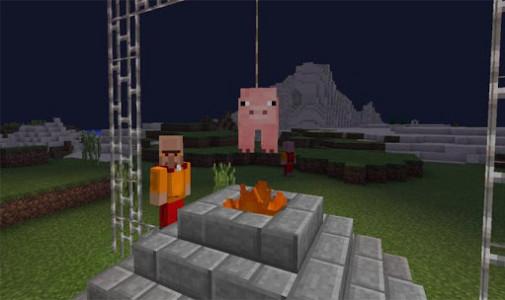 اسکرین شات برنامه Medieval Mobs for Minecraft 4