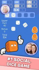 اسکرین شات بازی Dice Clubs - Social Dice Poker 1