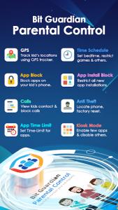 اسکرین شات برنامه Parental Control : Screen Time & Location Tracker 1