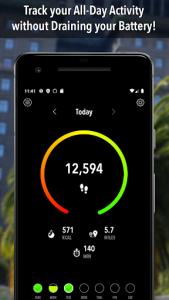 اسکرین شات برنامه ActivityTracker - Step Counter & Pedometer 1