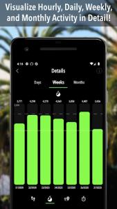 اسکرین شات برنامه ActivityTracker - Step Counter & Pedometer 4