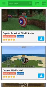 اسکرین شات برنامه New Shield MOD 3