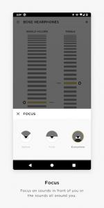 اسکرین شات برنامه Bose Hear - only for Bose® Hearphones™ 2