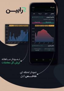 اسکرین شات برنامه رابین   سامانه تحلیل بازار سرمایه 2