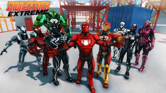 اسکرین شات بازی Iron Spider Extreme 1