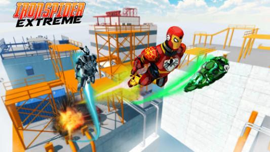 اسکرین شات بازی Iron Spider Extreme 2