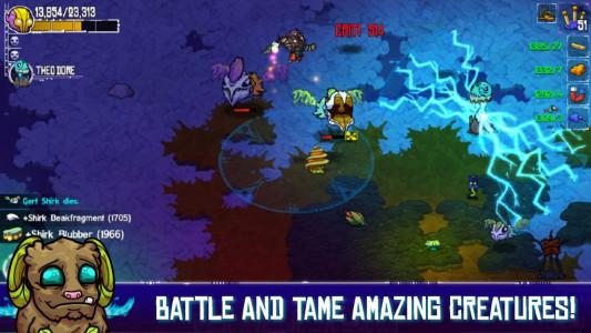 اسکرین شات بازی Crashlands 2