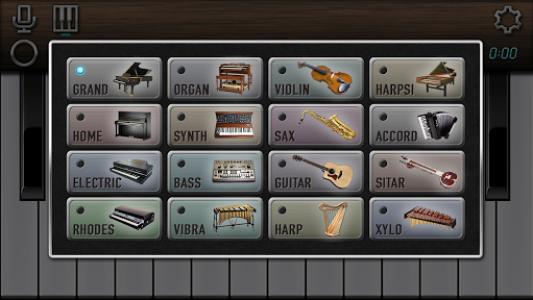 اسکرین شات برنامه My Piano - Record & Play 4