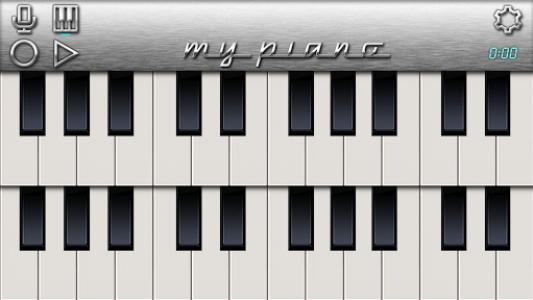 اسکرین شات برنامه My Piano - Record & Play 2