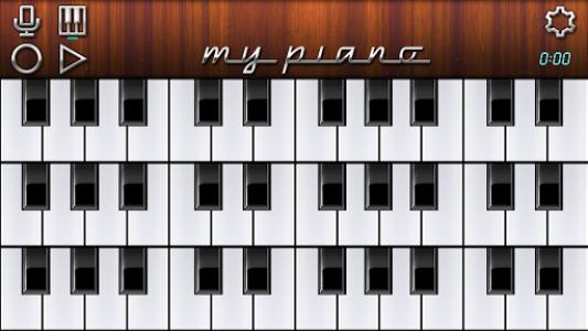 اسکرین شات برنامه My Piano - Record & Play 3