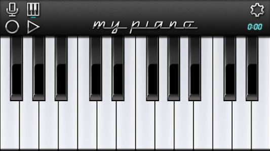 اسکرین شات برنامه My Piano - Record & Play 1