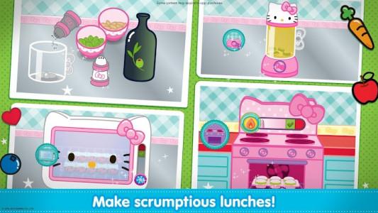 اسکرین شات بازی Hello Kitty Lunchbox 2