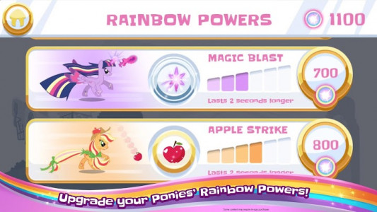 اسکرین شات بازی My Little Pony Rainbow Runners 3