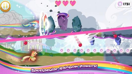 اسکرین شات بازی My Little Pony Rainbow Runners 4