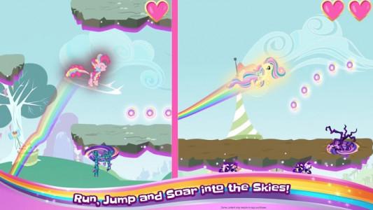 اسکرین شات بازی My Little Pony Rainbow Runners 1