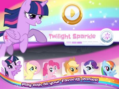 اسکرین شات بازی My Little Pony Rainbow Runners 7