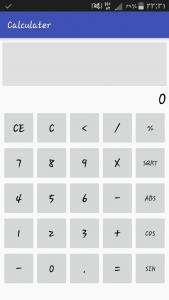اسکرین شات برنامه ماشین حساب 3