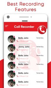اسکرین شات برنامه Automatic Call Recorder – Record Call Free ACR 5
