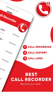 اسکرین شات برنامه Automatic Call Recorder – Record Call Free ACR 2