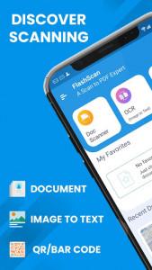 اسکرین شات برنامه Document Scanner - Free PDF Creator & OCR Scanner 1