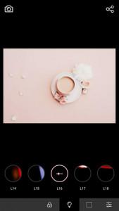 اسکرین شات برنامه Analog Film Pink Camera-Palette,Photo editor,Paris 3