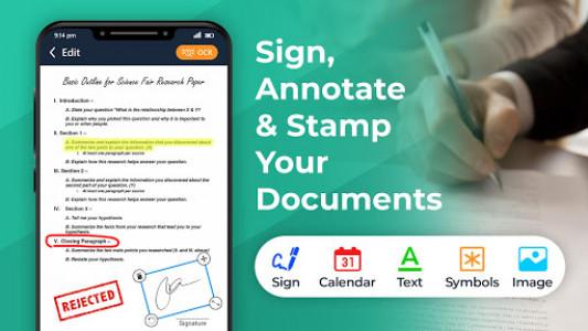 اسکرین شات برنامه Fast Document Scanner: PDF Scanner Doc Scanner Pro 3
