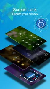 اسکرین شات برنامه CM Locker - Security Lockscreen 1