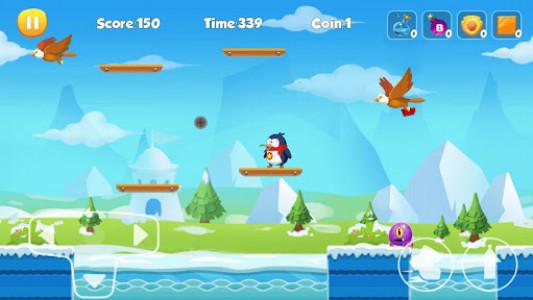 اسکرین شات بازی Penguin Run 2