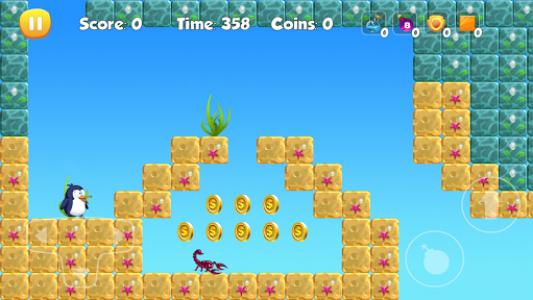 اسکرین شات بازی Penguin Run 4