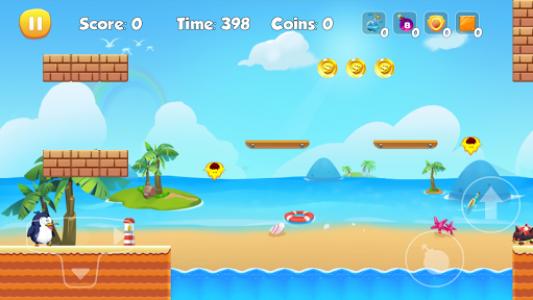 اسکرین شات بازی Penguin Run 3