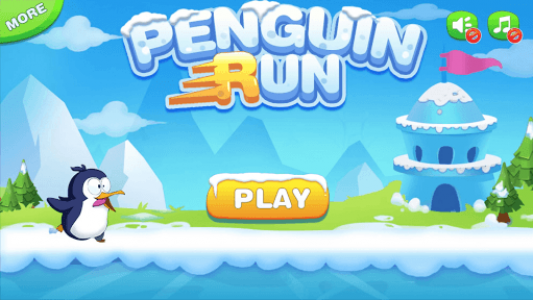 اسکرین شات بازی Penguin Run 1