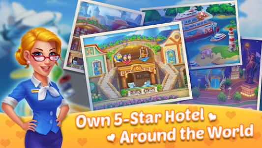 اسکرین شات بازی Hotel Decor: Hotel Manager, Home Design Games 3
