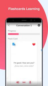 اسکرین شات برنامه English Conversation Practice - Cudu 7