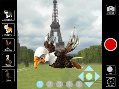 اسکرین شات برنامه Animal Camera 3D 8