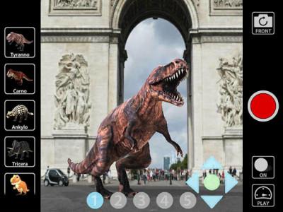 اسکرین شات برنامه Animal Camera 3D 7