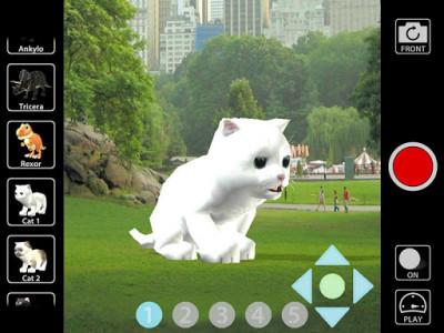 اسکرین شات برنامه Animal Camera 3D 6
