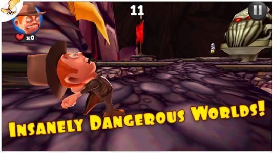اسکرین شات بازی Running Fred 4