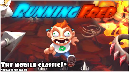 اسکرین شات بازی Running Fred 1