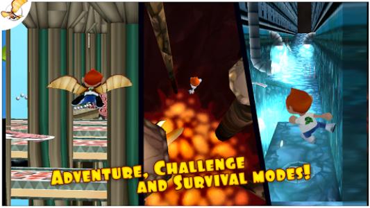 اسکرین شات بازی Running Fred 5