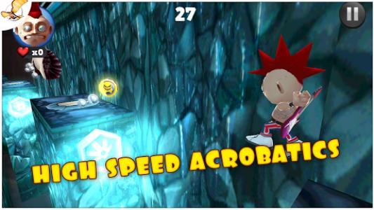 اسکرین شات بازی Running Fred 3