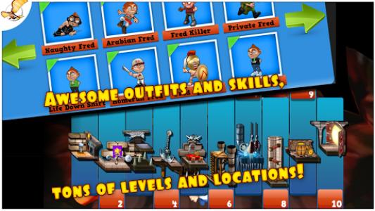 اسکرین شات بازی Running Fred 6
