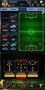 اسکرین شات بازی فوتبال هتریک 7