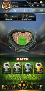 اسکرین شات بازی فوتبال هتریک 5