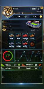 اسکرین شات بازی فوتبال هتریک 9