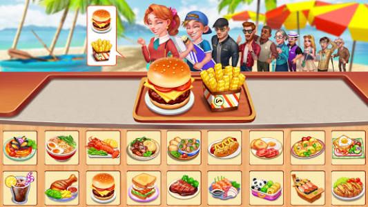 اسکرین شات بازی Cooking Home: Design Home in Restaurant Games 2