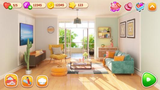 اسکرین شات بازی Cooking Home: Design Home in Restaurant Games 5