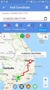 اسکرین شات برنامه Maps Route Finder 6