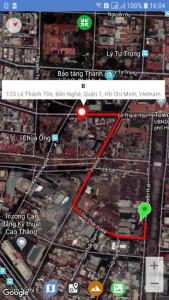 اسکرین شات برنامه Maps Route Finder 8