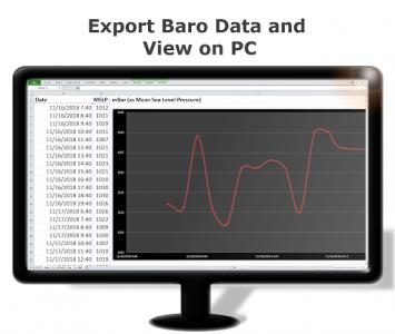 اسکرین شات برنامه DS Barometer - Altimeter and Weather Information 6